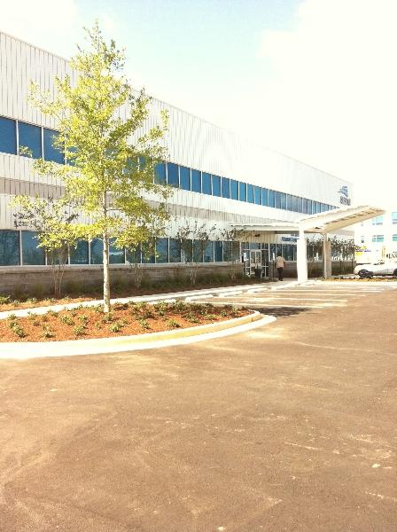 Navy Admin Building Exterior