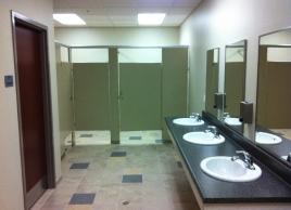 Navy Admin Bldg. -  Restroom